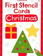 Usborne First Stencil Cards: Christmas