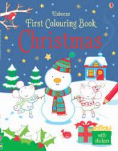 First Colouring Book: Christmas